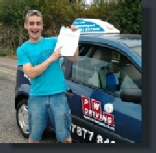 Martin Passed his Driving Test